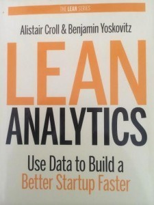 Okładka Lean Analytics Use Data to Build a Better Startup Faster